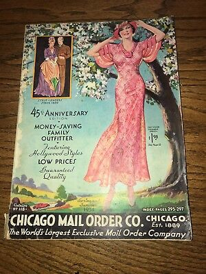 1934 Chicago Mail Order Co. Spring/Summer Family fashion catalog