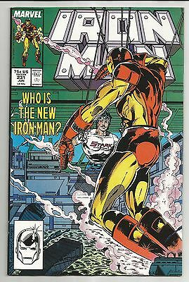 Iron Man #231 (1988) - Who Is The New Iron Man?