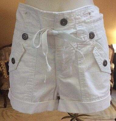 Levi's Shorts,size 1,white,new With Tags