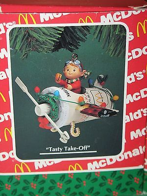"""""""2"""" Mcdonald's Ornaments - Limited Editions - In Box  Vintage"""