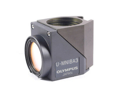 Olympus U-MNIBA3 Fluorescence Filter Cube for BX2 / IX2 Series Microscope