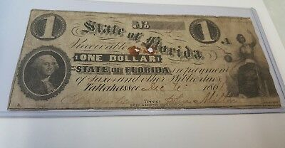 State of  Florida $1.   1861