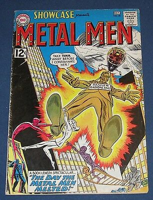 Showcase #40  Oct 1962  Metal Men