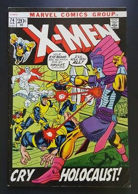 The X-Men #74 (Feb 1972, Marvel) - FN+