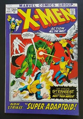 The X-Men #77 -  (Aug 1972, Marvel) - FN-