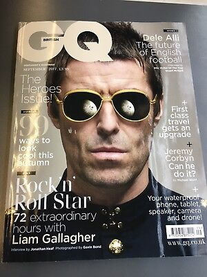 GQ UK 2017 Liam Gallagher Oasis Dele Alli New