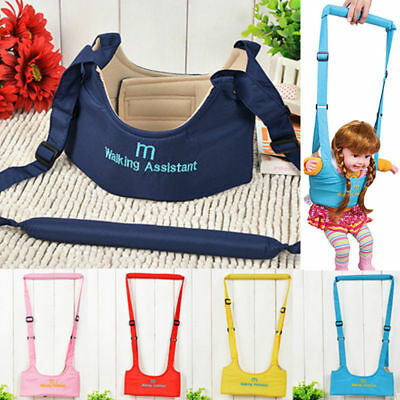 Baby Toddler Walking Assistant Learning Safety Reins Harness Walker In Outdoor