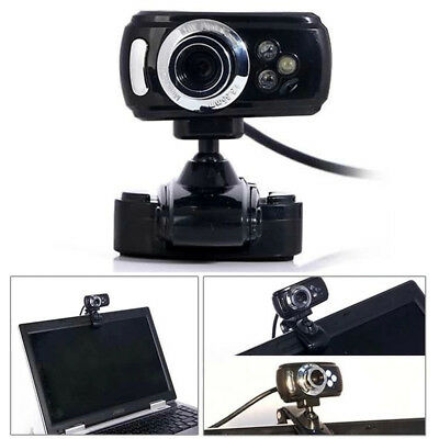 USB 1200 Megapixel HD Webcam Camera with MIC for Computer PC Laptop Desktop UK