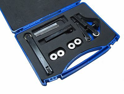 Rdgtools Knurling And Parting Tool Set 9Pc Kit Lathes Engineering Tools