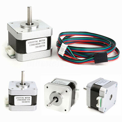 4-Wire Whith Cable Nema 17 Stepper Motor 32N.m For 3D Printer 1.5A 17HD34008-22B