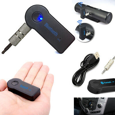 3.5mm Kabellos USB Bluetooth AUX Stereo Audio Musik Auto Adapter Receiver
