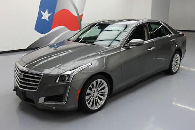 2017 Cadillac CTS Luxury Sedan 4-Door 2017 CADILLAC CTS 2.0T LUX PANO NAV CLIMATE SEATS 4K MI #165077 Texas Direct