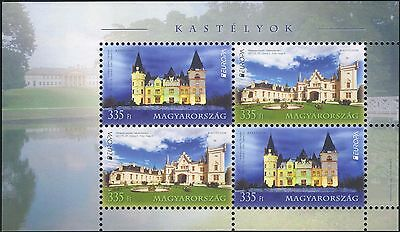 Hungary 2017 Europa/Castles/Buildings/Architecture/History/Heritage m/s (hx1031)