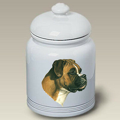 Ceramic Treat Cookie Jar - Uncropped Boxer (LP) 34026