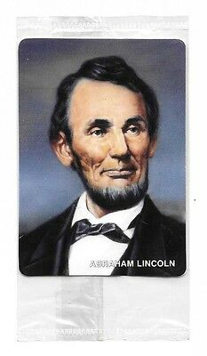 1992 Mother's Cookies US Presidents Set ~ ABRAHAM LINCOLN, #16 of 42 ~ NIP
