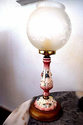 French  Boudoir Lamp  Adorable Shabby Chic