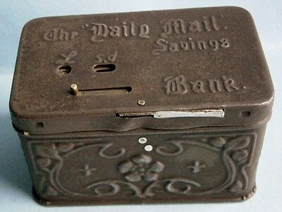 The Daily Mail Savings Bank Registering Mechanical Bank made in England, 1900s