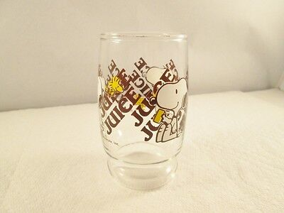 Snoopy Vintage 1965 Juice Glass