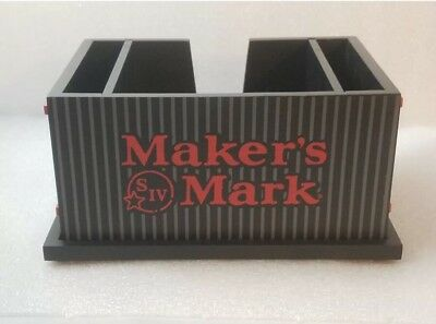 Makers Mark Napkin Holder. New. Free Ship USA