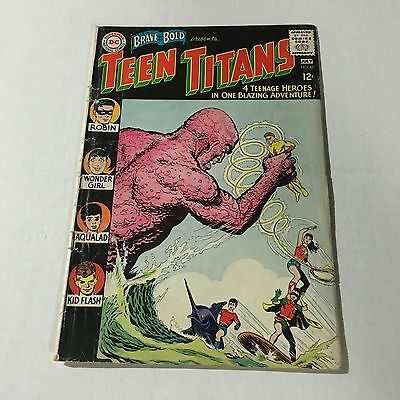 BRAVE AND THE BOLD #60 DC Silver Age Key Issue Teen Titans #J