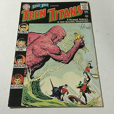 BRAVE AND THE BOLD #60 Silver Age comic 1st Appearance WONDER GIRL #A