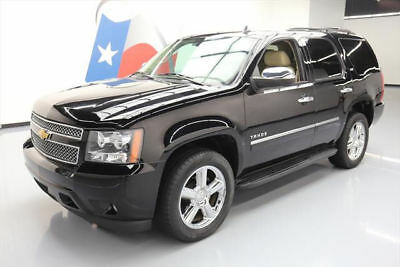 2013 Chevrolet Tahoe LTZ Sport Utility 4-Door 2013 CHEVY TAHOE LTZ SUNROOF NAV DVD REAR CAM 20'S 39K #278863 Texas Direct Auto