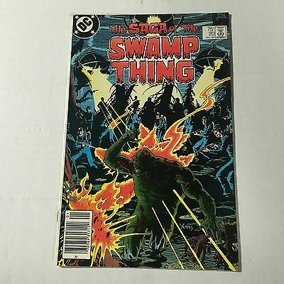 SAGA OF THE SWAMP THING #20 DC Bronze Age Key Issue 1st Alan Moore