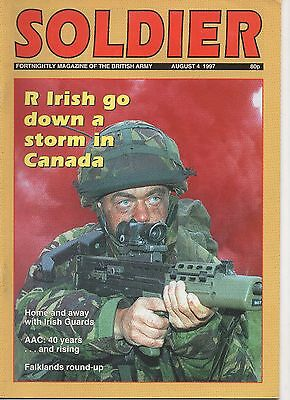 Soldier Magazine of the British Army.August 1997 AAC 40 years old Drumcree Riots