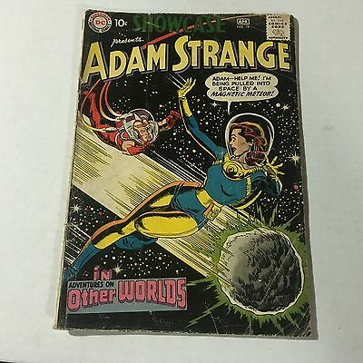 SHOWCASE #19 DC Comics Silver Age Key Issue 3rd Adam Strange #a
