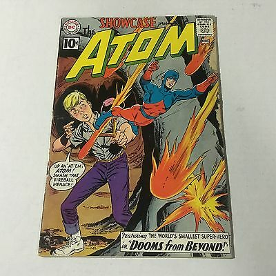 SHOWCASE #35 DC Comics Silver Age Key Issue THE ATOM 1961