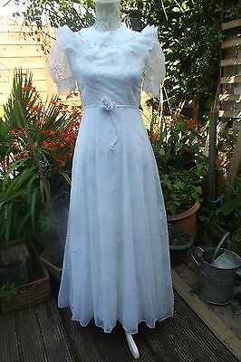 True Vintage.1940's.WW2.Stunning Simple Dress/Wedding/occasion/bridesmaid/races.