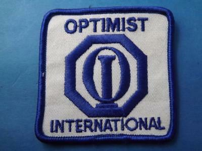 Optimist Club International Patch Vintage Logo Collector