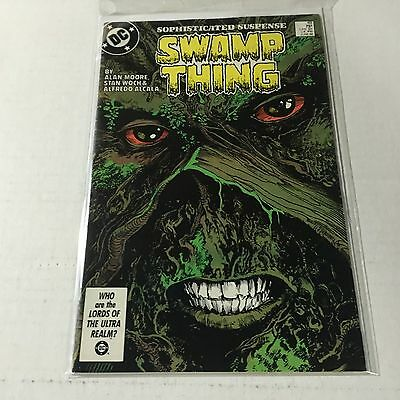 SWAMP THING #49 DC Copper Age Key 1st Brief JUSTICE LEAGUE DARK Appearance NM-