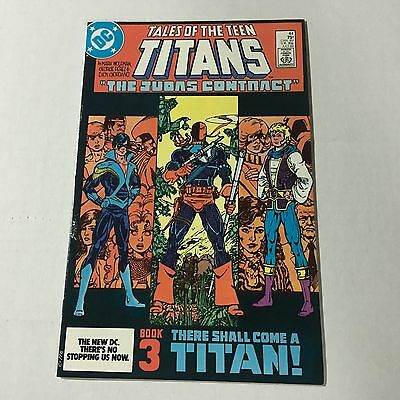 TALES OF THE NEW TEEN TITANS #44 DC Copper Age Key 1st NIGHTWING APPEARANCE #A