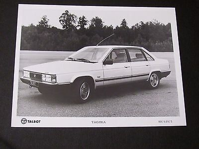 1980's TALBOT TAGORA ORIGINAL PRESS PHOTO..