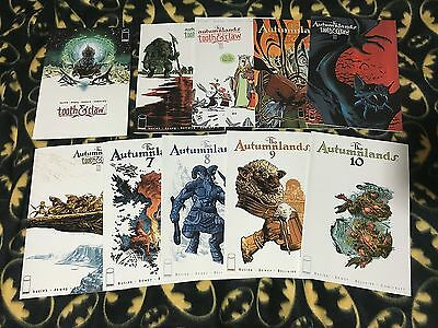 THE AUTUMNLANDS #1 2 3 4 5 6 7 8 9 10 Run Lot Set 1st Print IMAGE Tooth And Nail