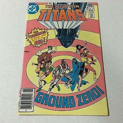 THE NEW TEEN TITANS #10 DC Bronze Age Key Issue 2nd Deathstroke Appearance