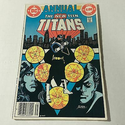 THE NEW TEEN TITANS ANNUAL 2 DC Bronze Age Key Issue 1st VIGILANTE Appearance #C