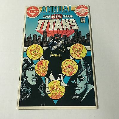 THE NEW TEEN TITANS ANNUAL 2 DC Bronze Age Key Issue 1st VIGILANTE Appearance #D