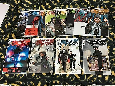 THIEF OF THIEVES #1-12 Complete Run Lot Set 1st Print Sold Out Image Kirkman