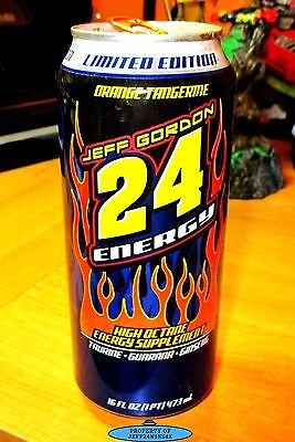 Empty JEFF GORDON ENERGY DRINK Limited Edition Very Rare Collectible OPENED!!!