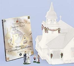 DEPARTMENT 56 SEASONS BAY The Perfect Wedding Gift Set (Set of 8) 53417 MIB