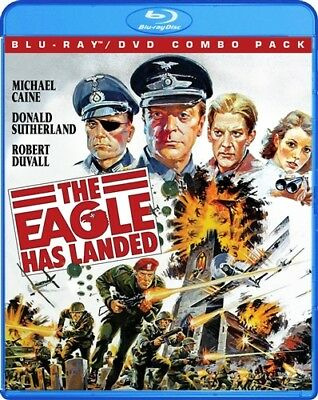 THE EAGLE HAS LANDED New Sealed Blu-ray DVD Michael Caine Donald Sutherland