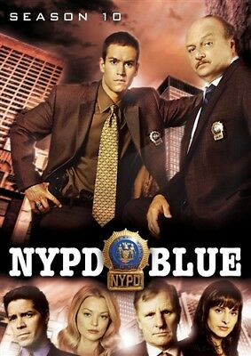 NYPD BLUE SEASON 10 New Sealed 5 DVD Set