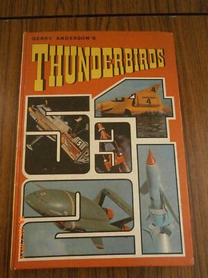 Vintage 1960's Thunderbirds Annual Unclipped -Vg Condition,not Captain Scarlet