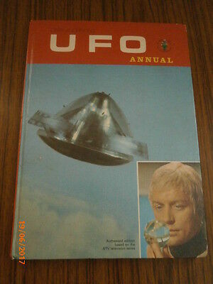 Vintage 1960's Ufo Annual Unclipped -Vg Condition,'thunderbirds,captain Scarlet