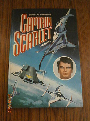 Vintage 1960's Captain Scarlet Annual Unclipped -Vg Condition,'thunderbirds,ufo'