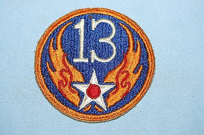 Lot of 5 Original WWII US Army Air Forces Patches No  Glow