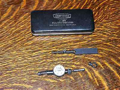 Vintage Craftsman No. 9-4076 Dial Test Indicator Guage