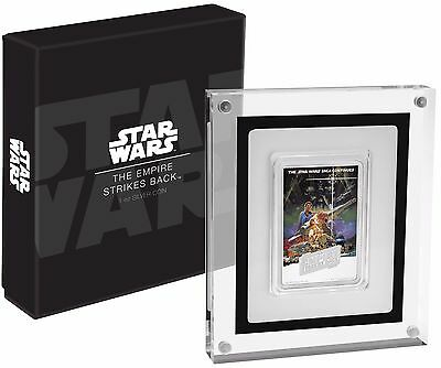 2017 Star Wars Empire Strikes Back Poster Coin - 1 Oz. Silver Coin  - New